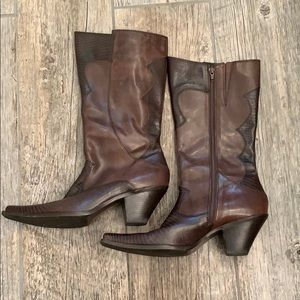 Like New Leather Boots